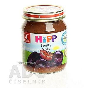 HiPP Príkrm ovocný Slivky (od ukonč. 4. mesiaca) 1x125 g vyobraziť