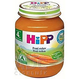 HiPP Príkrm Prvá mrkva zeleninový (od ukonč. 4. mesiaca) 1x125 g vyobraziť