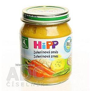 HiPP Príkrm Zeleninová zmes zeleninový (od ukonč. 4. mesiaca) 1x125 g vyobraziť