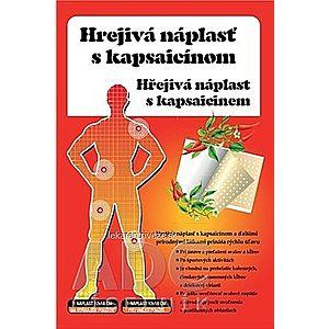 HREJIVÁ Náplasť s kapsaicínom 12x18 cm, masážna, 1x1 ks vyobraziť