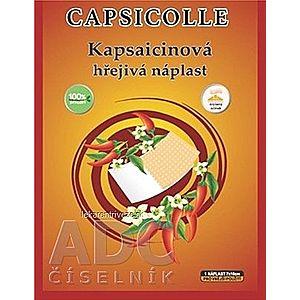 Kapsaicínová hrejivá náplasť CAPSICOLLE 7x10 cm 1x1 ks vyobraziť
