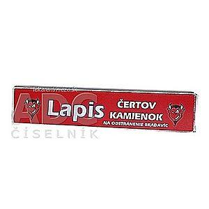 LAPIS Tyčinka na odstránenie bradavíc čertov kamienok 1x10 g vyobraziť