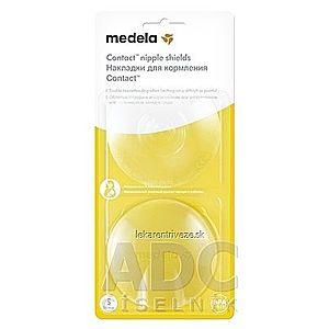 MEDELA Kontaktné dojčiace klobúčiky v krabičke (Ochrana prsných bradaviek MEDELA) veľkosť S (priemer 16 mm), 1x2 ks vyobraziť
