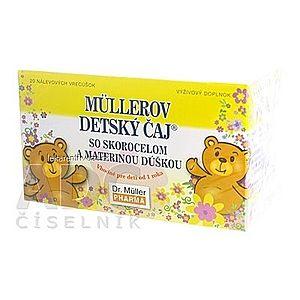 Müllerov DETSKÝ ČAJ bylinný čaj 20x1, 5 g (30 g) vyobraziť