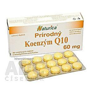 Naturica Prírodný KOENZÝM Q10 60 mg tbl (cmúľavé tablety) 1x30 ks vyobraziť