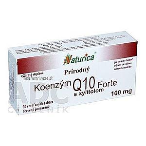 Naturica Prírodný KOENZÝM Q10 Forte 100 mg tbl (cmúľavé tablety) 1x30 ks vyobraziť