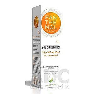 omega PANTHENOL 9% ALOE VERA telové mlieko po opaľovaní 1x250 ml vyobraziť