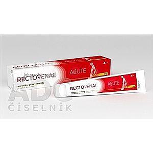 RECTOVENAL ACUTE anorektálny gél na hemoroidy, s aplikátorom 1x50 g vyobraziť