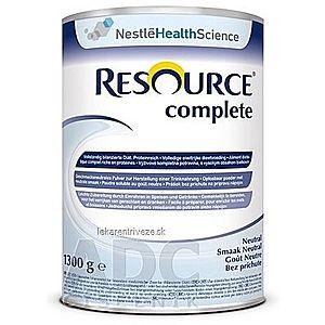 RESOURCE Complete Neutral plv (bez príchuti) 1x1300 g vyobraziť