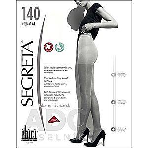 SEGRETA 140 SUPERCALIBRATO pančuchové nohavice č.3 s klinom, hnedé (I.KT) 1x1 ks vyobraziť