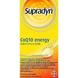 Supradyn CoQ10 Energy šumivé tablety s pomarančovou príchuťou 1x30 ks vyobraziť
