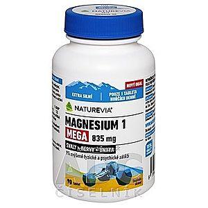 SWISS NATUREVIA MAGNESIUM 1 MEGA 835 mg tbl 1x90 ks vyobraziť