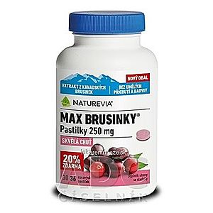 SWISS NATUREVIA MAX BRUSNICE 250 mg vyobraziť