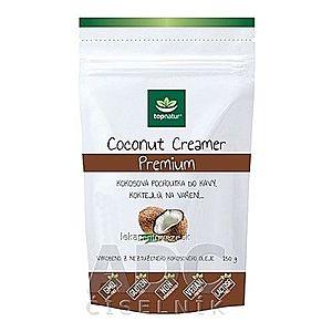 topnatur COCONUT CREAMER Premium kokosová pochúťka do kávy, prášok, 1x150 g vyobraziť