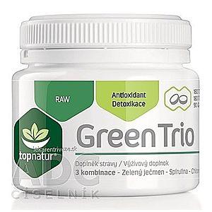 topnatur GREEN TRIO tbl (spirulina, chlorella, zelený jačmeň) 1x180 ks vyobraziť