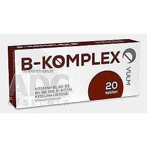 VULM B-KOMPLEX tbl flm 1x20 ks vyobraziť