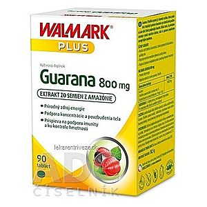 WALMARK Guarana 800 mg tbl 1x90 ks vyobraziť