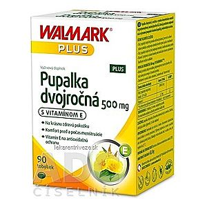 WALMARK Pupalka dvojročná 500 mg s vitamínom E cps 1x90 ks vyobraziť