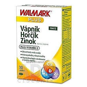 WALMARK Vápnik Horčík Zinok FORTE tbl (inov.2019) 1x30 ks vyobraziť