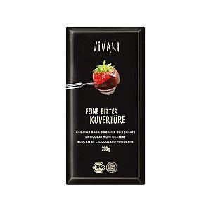 VIVANI Bio Čokoláda na varenie horká 200g vyobraziť