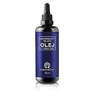 Renovality Masážny a telový olej Levanduľa 100 ml vyobraziť