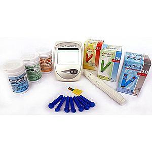 EasyTouch Cholesterolmeter EasyTouch 3v1 + 3 škatuľky prúžkov vyobraziť