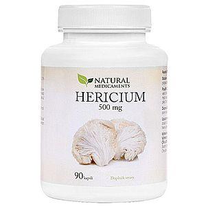 Natural Medicaments Hericium 500 mg 90 kapslí vyobraziť