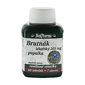 MedPharma Borák lekársky 205 mg + pupalka 60 tob. + 7 tob. ZD ARMA vyobraziť