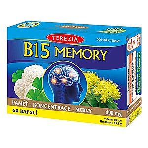 Terezia Company B15 Memory 60 kapsúl vyobraziť