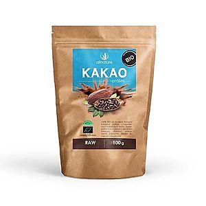 Allnature Kakaový prášek BIO RAW 100 g vyobraziť