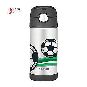 Thermos FUNtainer Detská termoska so slamkou - futbal 355 ml vyobraziť