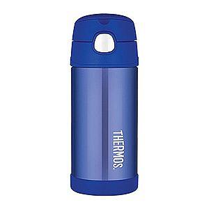Thermos FUNtainer Detská termoska so slamkou - modrá 355 ml vyobraziť