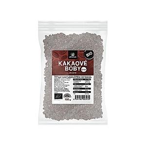 Allnature Kakaové bôby drvené BIO / RAW 100 g vyobraziť