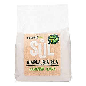 Country Life Soľ himalájska biela jemná 500 g vyobraziť