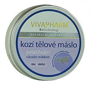 Vivapharm Telové maslo s kozím mliekom 200 ml vyobraziť
