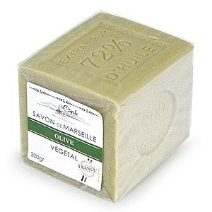 "La Cigale Marseillské mydlo ""Cube"" - Oliva 300 g vyobraziť"