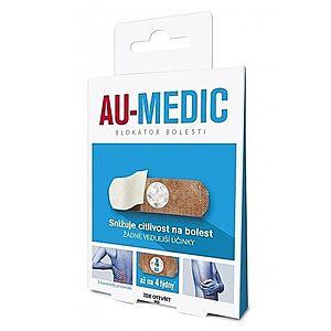 Au-medic blokátor bolesti náplasti (crystal tape) 4 ks vyobraziť