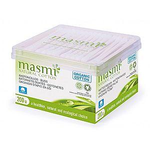 Masmi Hygienické tyčinky z organickej bavlny Masmi, 200 ks vyobraziť