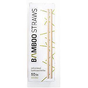 Bamboo Europe Bambusové slamku 6 mm x 23 mm box 50 ks vyobraziť