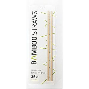 Bamboo Europe Bambusové slamku 8 mm x 23 mm box 35ks vyobraziť
