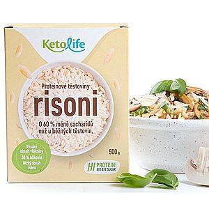 KetoLife Proteínové cestoviny - RISON 500 g vyobraziť