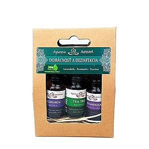 Set olejov - Domácnosť a dezinfekcia ALTEVITA 3x10 ml vyobraziť
