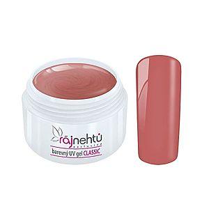 Ráj nehtů Barevný UV gel CLASSIC - Dusky Pink 5ml vyobraziť