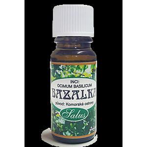 Esenciálne oleje - bazalka vyobraziť