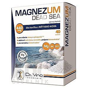 MAGNEZUM DEAD SEA - DA VINCI tbl 1x40 ks vyobraziť