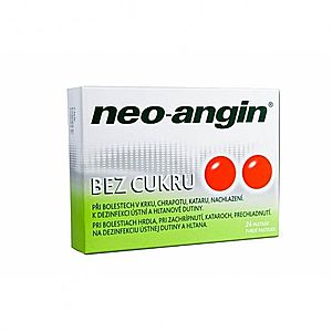 Neo-angin bez cukru pas.ord.24 vyobraziť
