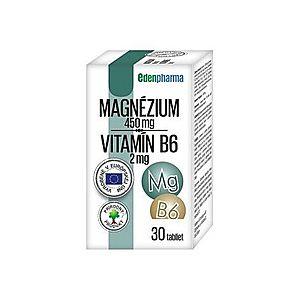 Edenpharma Magnézium + Vitamín B6 30 tbl vyobraziť