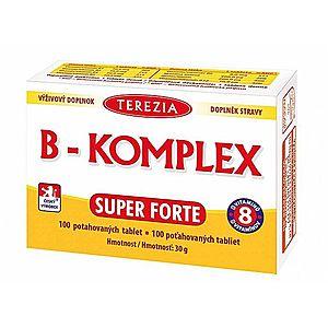Terezia Company Vitamín B Super Forte + 100 tablet vyobraziť