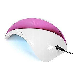 Ráj nehtů UV/LED Lampa K1 48W - růžová vyobraziť