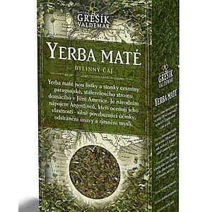 Yerba Maté - bylinný povzbudzujúci čaj sypaný Grešík 70 g vyobraziť